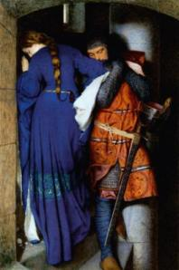 Lovers Meet on the Castle Stairs