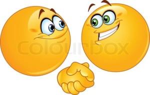EmoticonsShakingHands