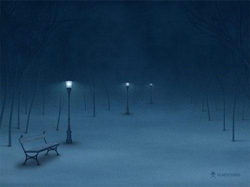 LonelyWinterStreet