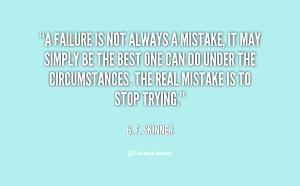 FailureQuote