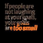 GoalsTooSmall