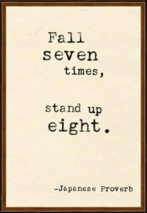 Fall Seven, Stand Eight