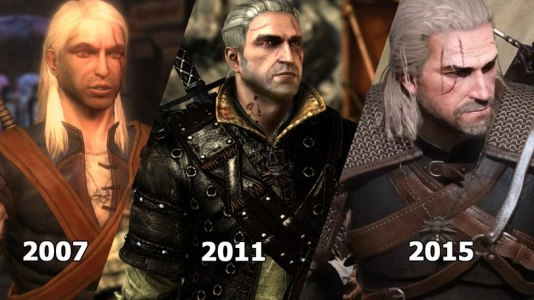 Geralt's Gaming Versions